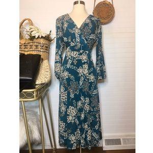 NWT Jessica Howard Floral Paisley Midi Dress